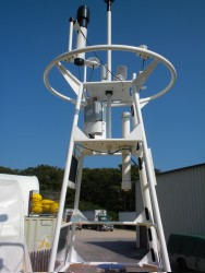 Pro-Oceanus Systems Inc. will provide Partial Pressure of CO2 Air-Sea Instrument Packages for use in the Ocean Observatories Initiative. (Photo Courtesy of RD Sea and Associates)