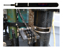 Satlantic, Inc., of Halifax, Nova Scotia, will provide dissolved nitrates instruments for the Ocean Observatories Initiative. Shown above is Satlantic's SUNA sensor able to provide real-time chemical free nitrate calculations in deep ocean environments. (Photo provided by Satlantic, LP)