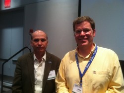 Dr. Scott Glenn, Principal Investigator for the EPE Implementing Organization and Mike Crowley, EPE Project Manager both gave talks on the importance of the use of observational data for learning purposes at the MTS/IEEE meeting in Virginia Beach, VA. ( Photo Credit - OOI Communications)